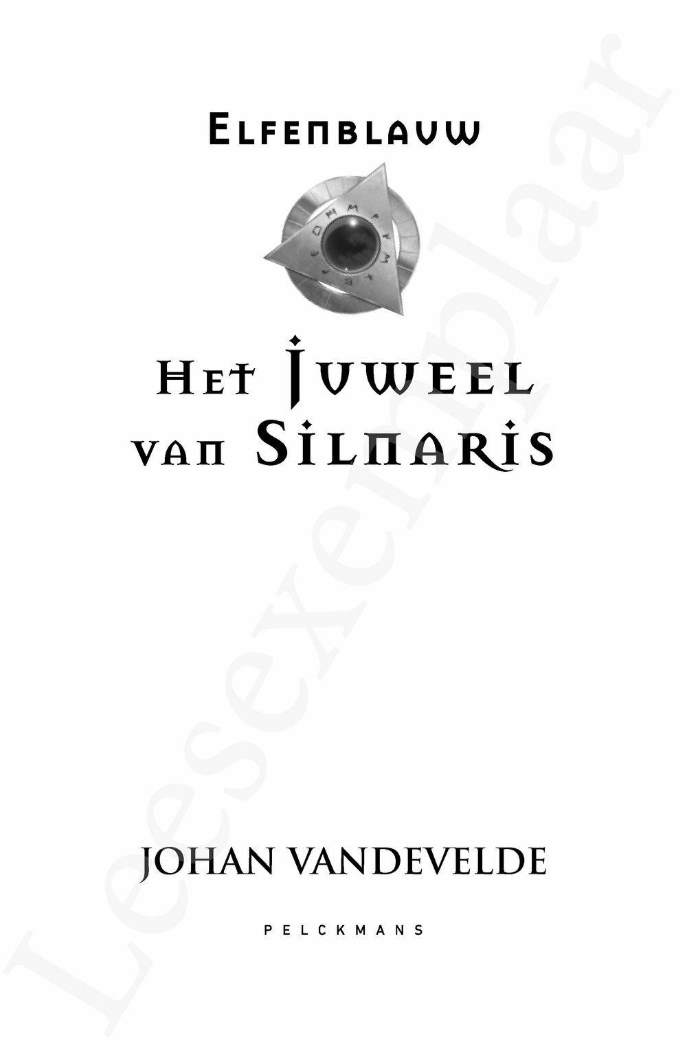 Preview: Het juweel van Silnaris