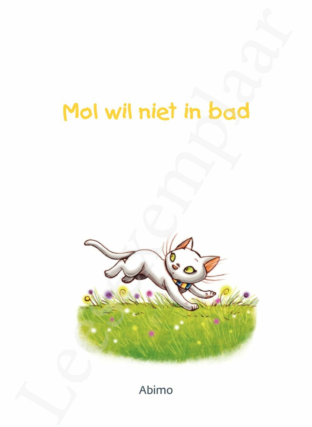 Preview: Mol wil niet in bad