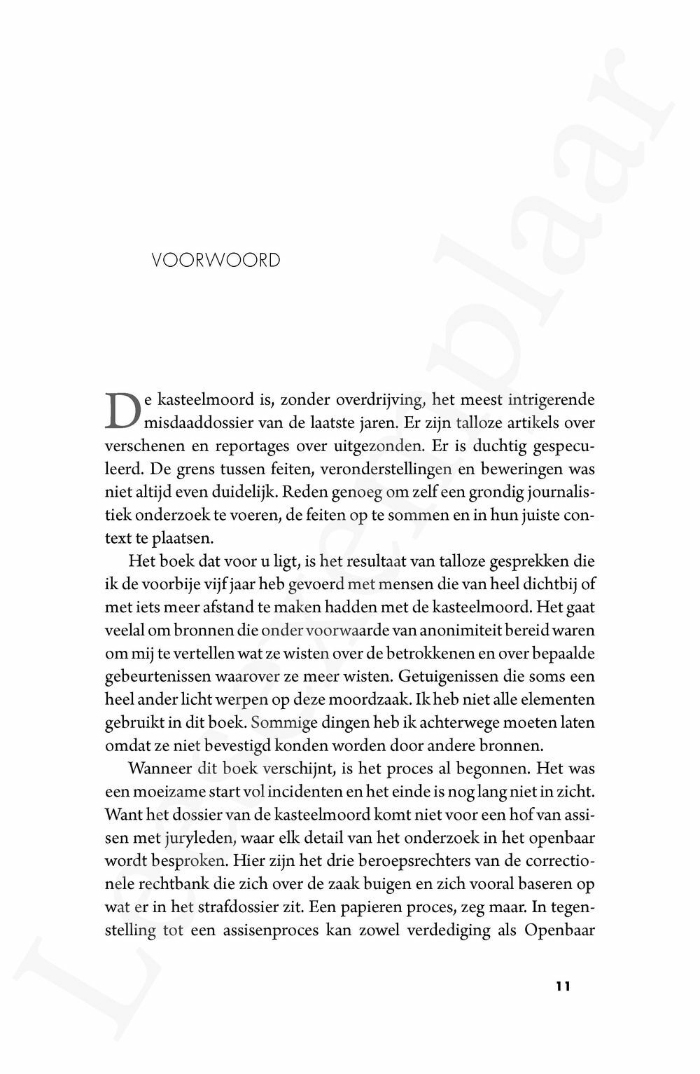 Preview: De kasteelmoord