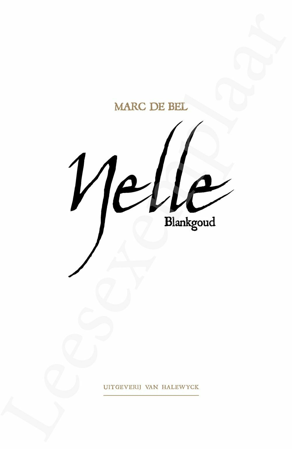 Preview: Nelle, blankgoud