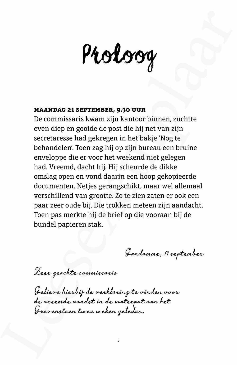 Preview: Wiet Waterlanders en de kleine Caroluscode (heruitgave)