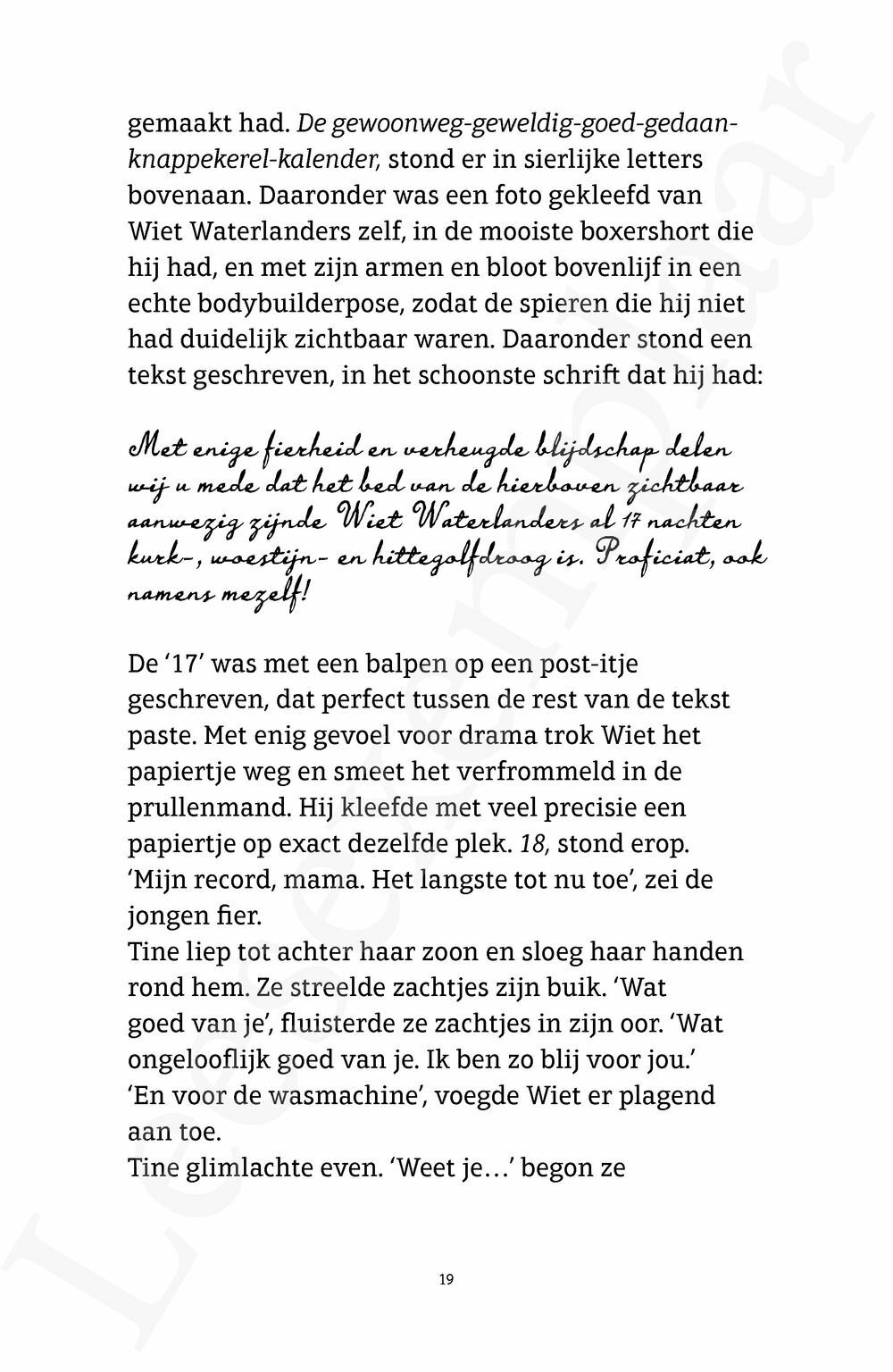Preview: Wiet Waterlanders Sint Preventia in de gloria