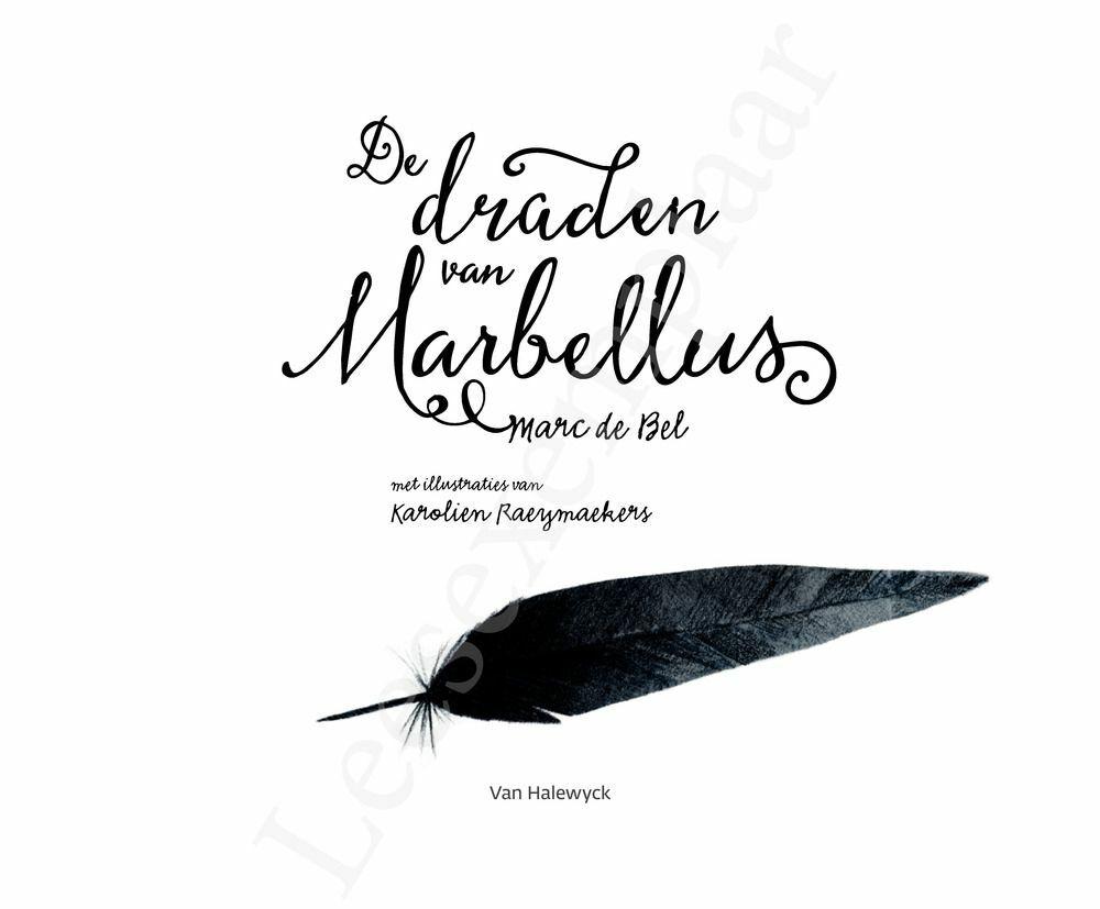 Preview: De draden van Marbellus