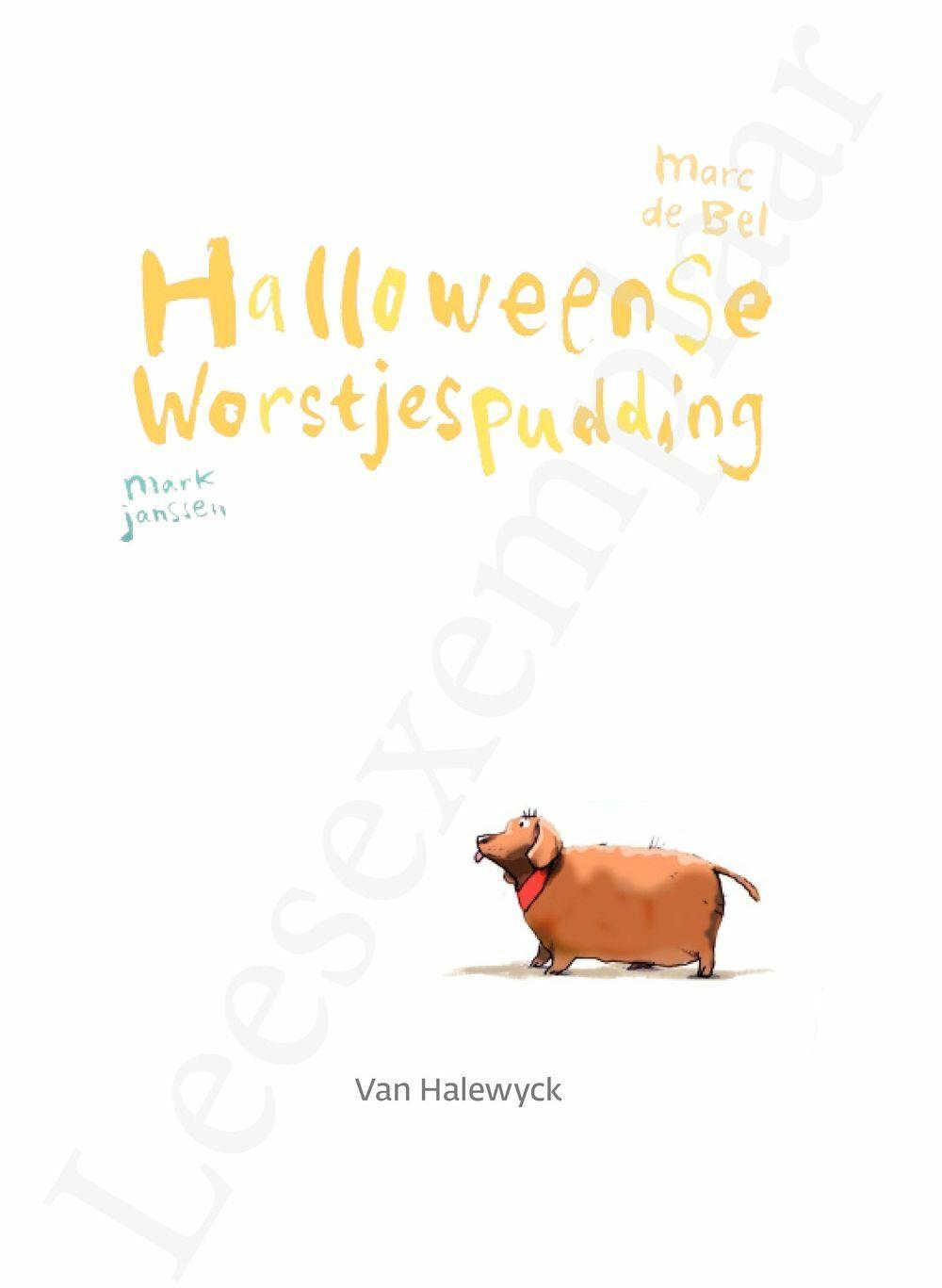 Preview: Meisjes met pit: Halloweense worstjespudding