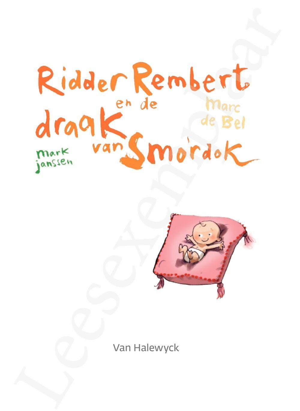 Preview: Meisjes met pit: Ridder Rembert en de draak van Smordok