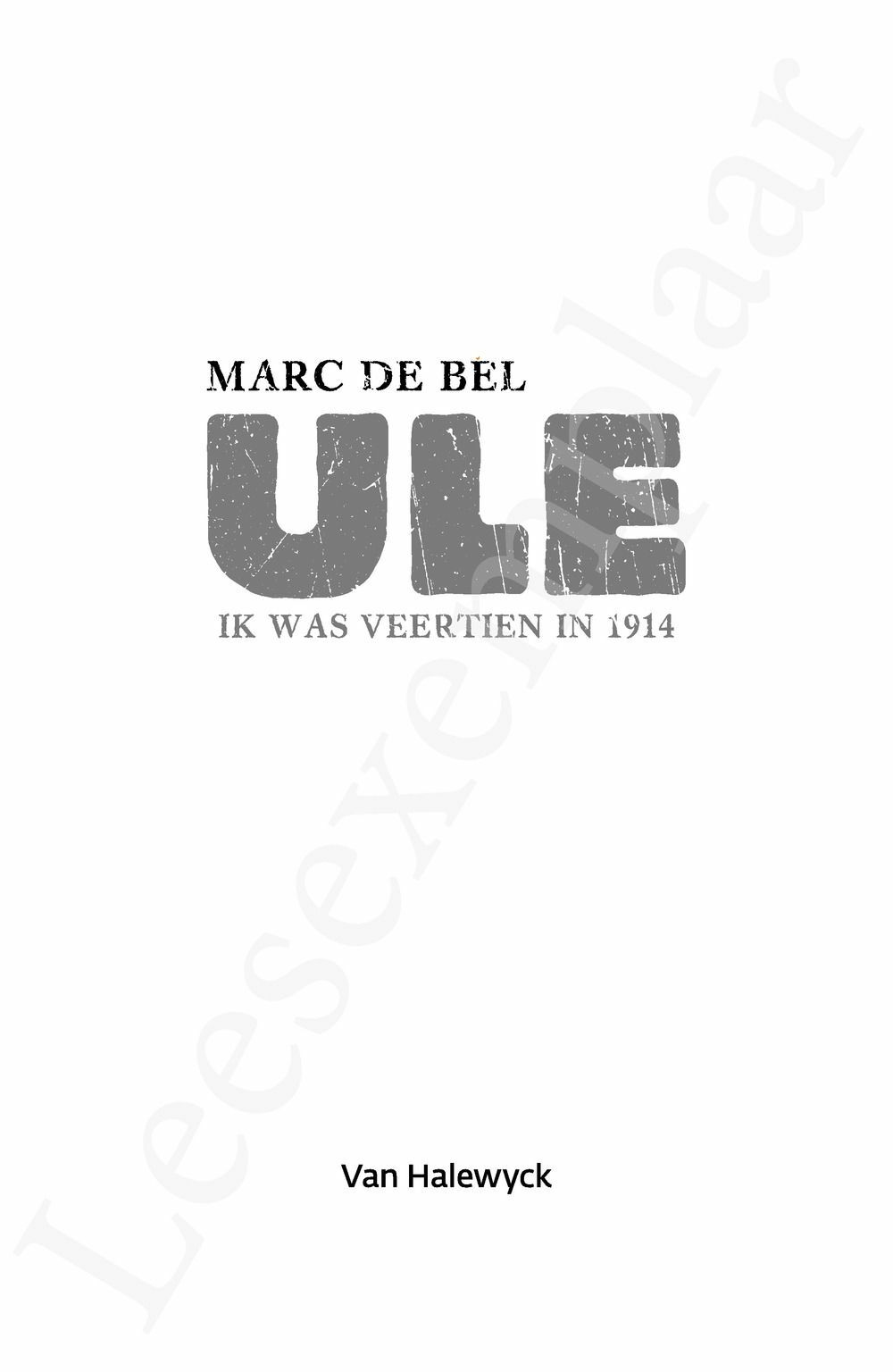 Preview: Ule