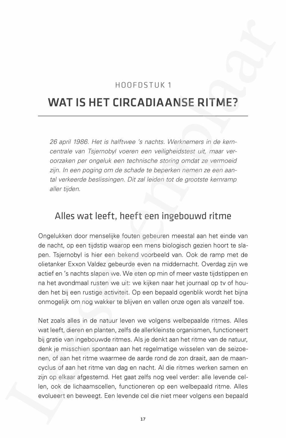 Preview: Oerritme