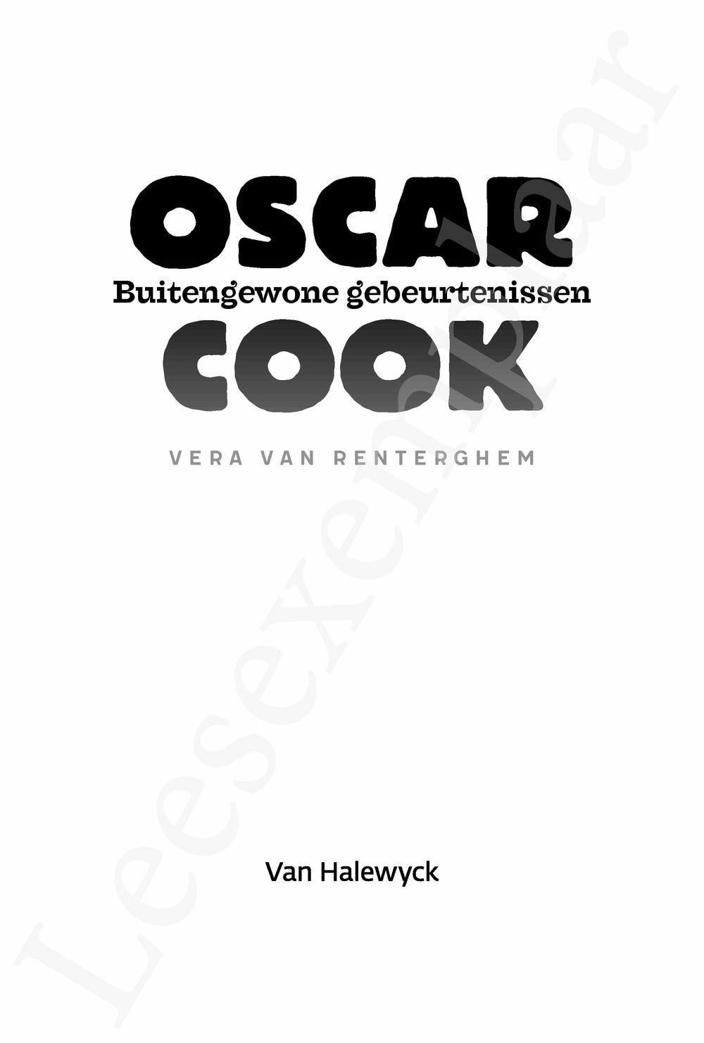Preview: Oscar Cook: Buitengewone gebeurtenissen