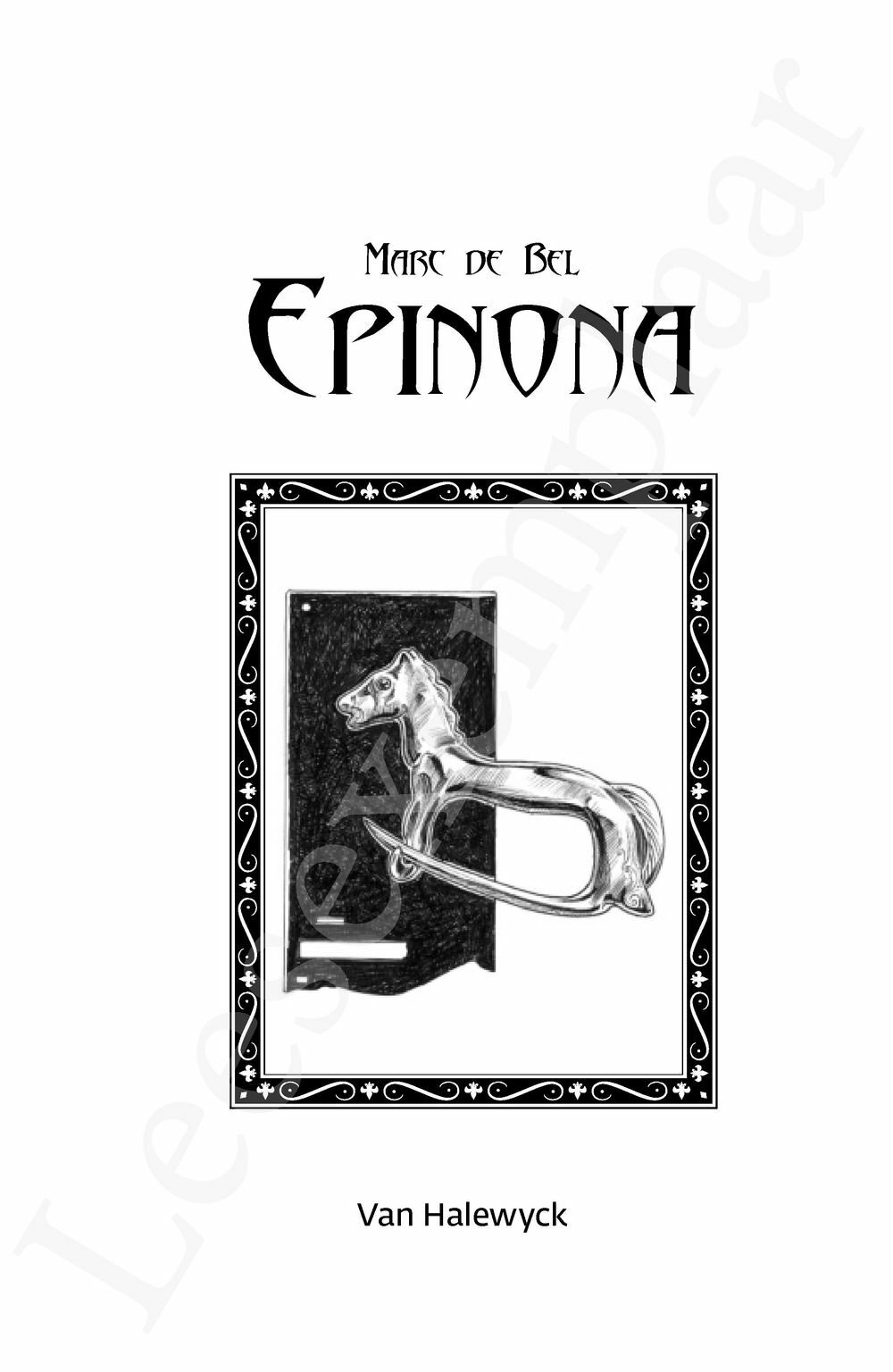 Preview: Epinona
