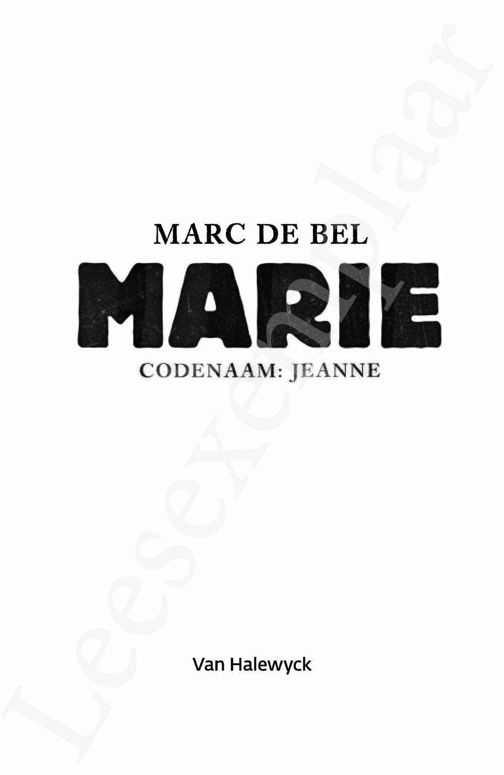 Preview: Marie