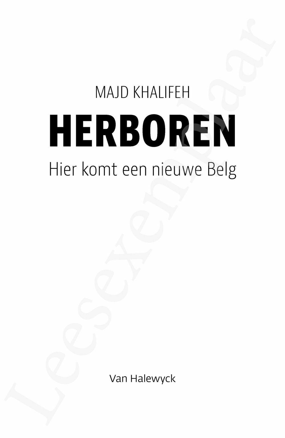 Preview: Herboren