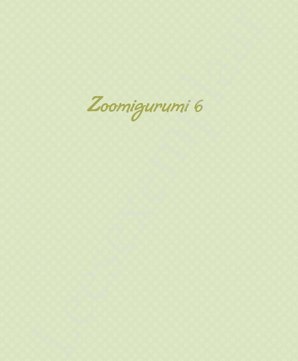 Preview: Zoomigurumi 6
