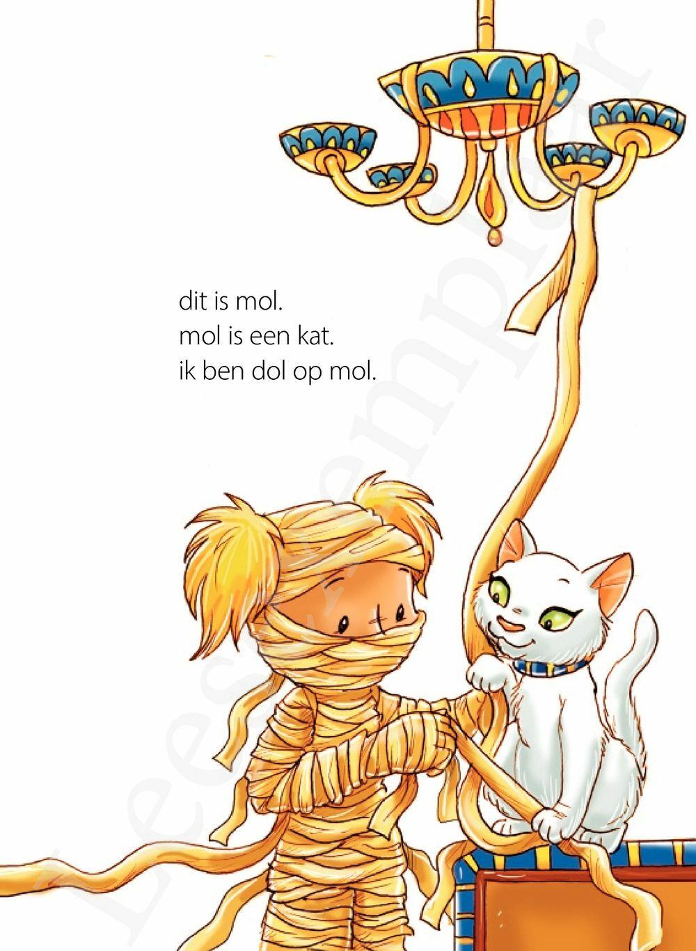 Preview: mie en mol in de boom