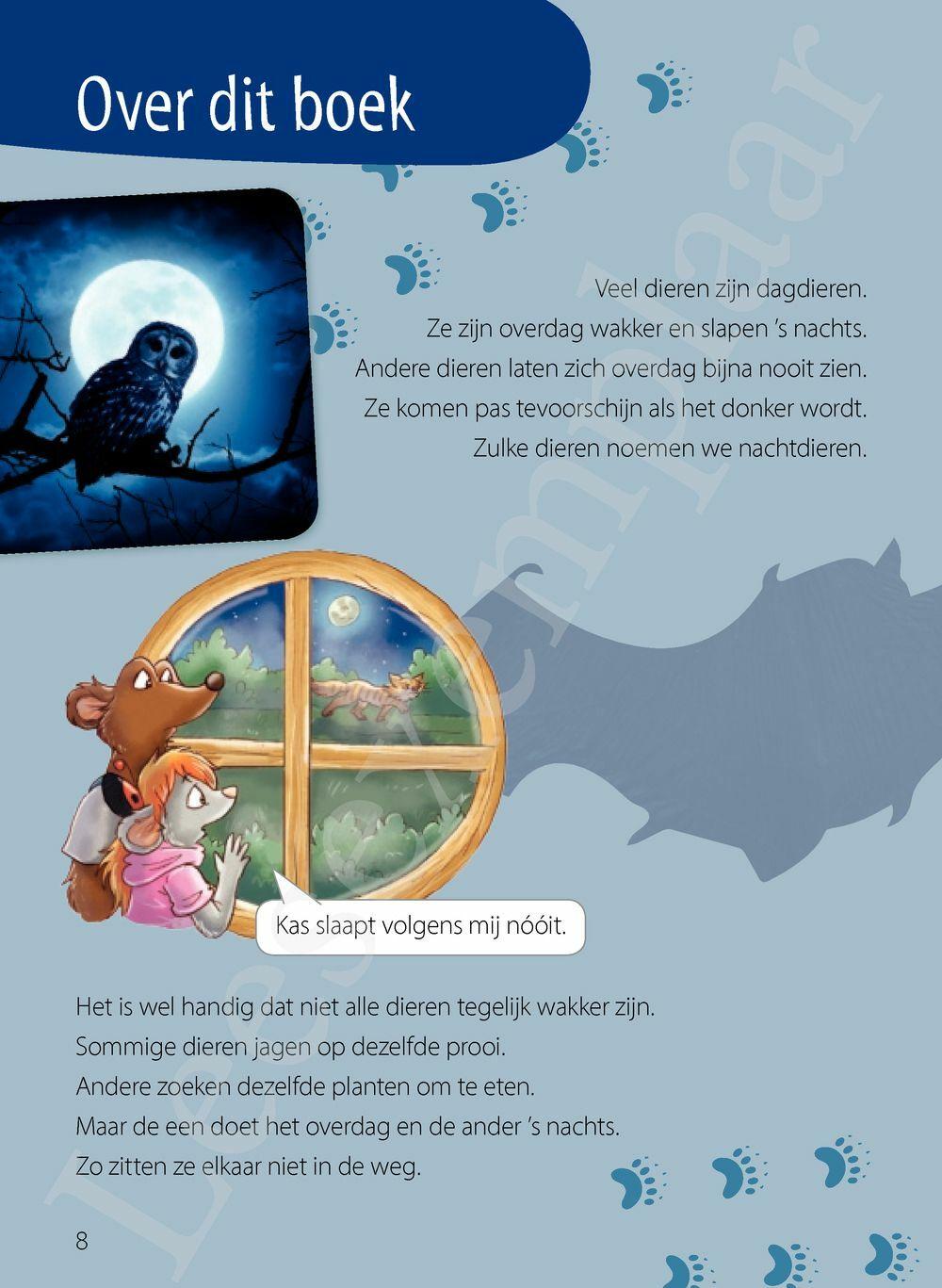 Preview: Dag of nacht? Ik lees slim - weetjes over dieren