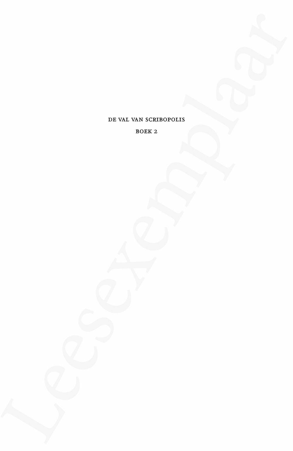 Preview: De kleine Odessa IV: De val van Scribopolis - Boek 2