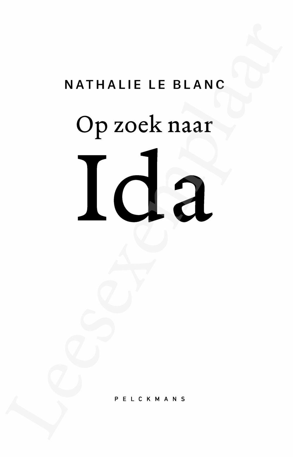 Preview: Op zoek naar Ida
