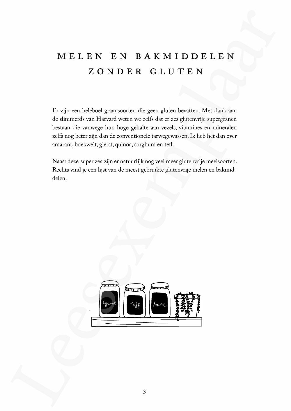 Preview: Bakken zonder gluten