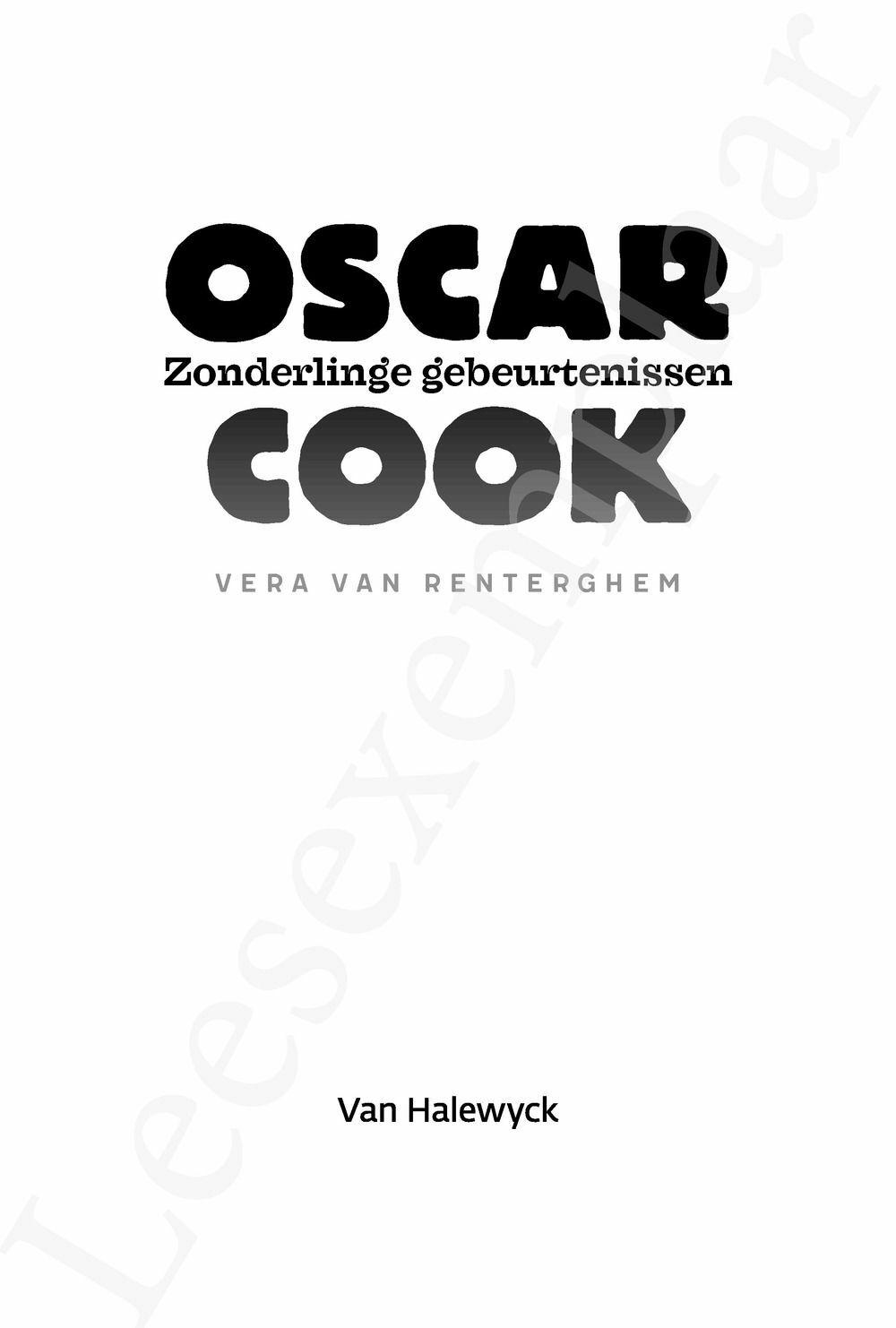 Preview: Oscar Cook: Zonderlinge gebeurtenissen