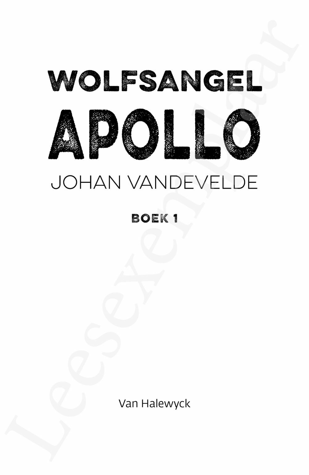 Preview: Wolfsangel: Apollo