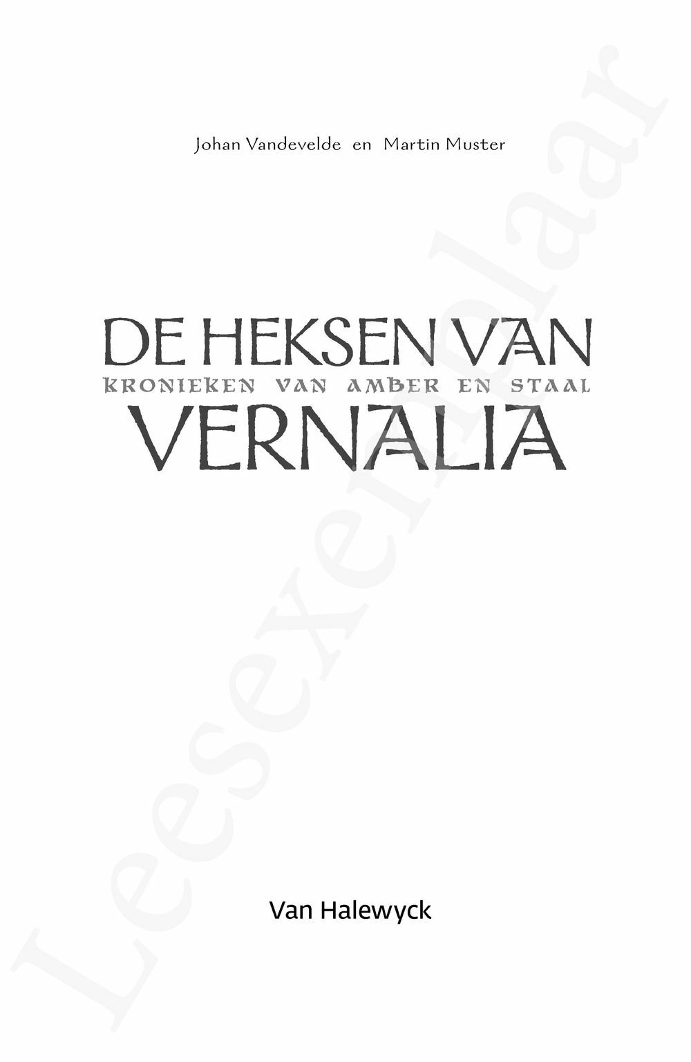 Preview: De heksen van Vernalia