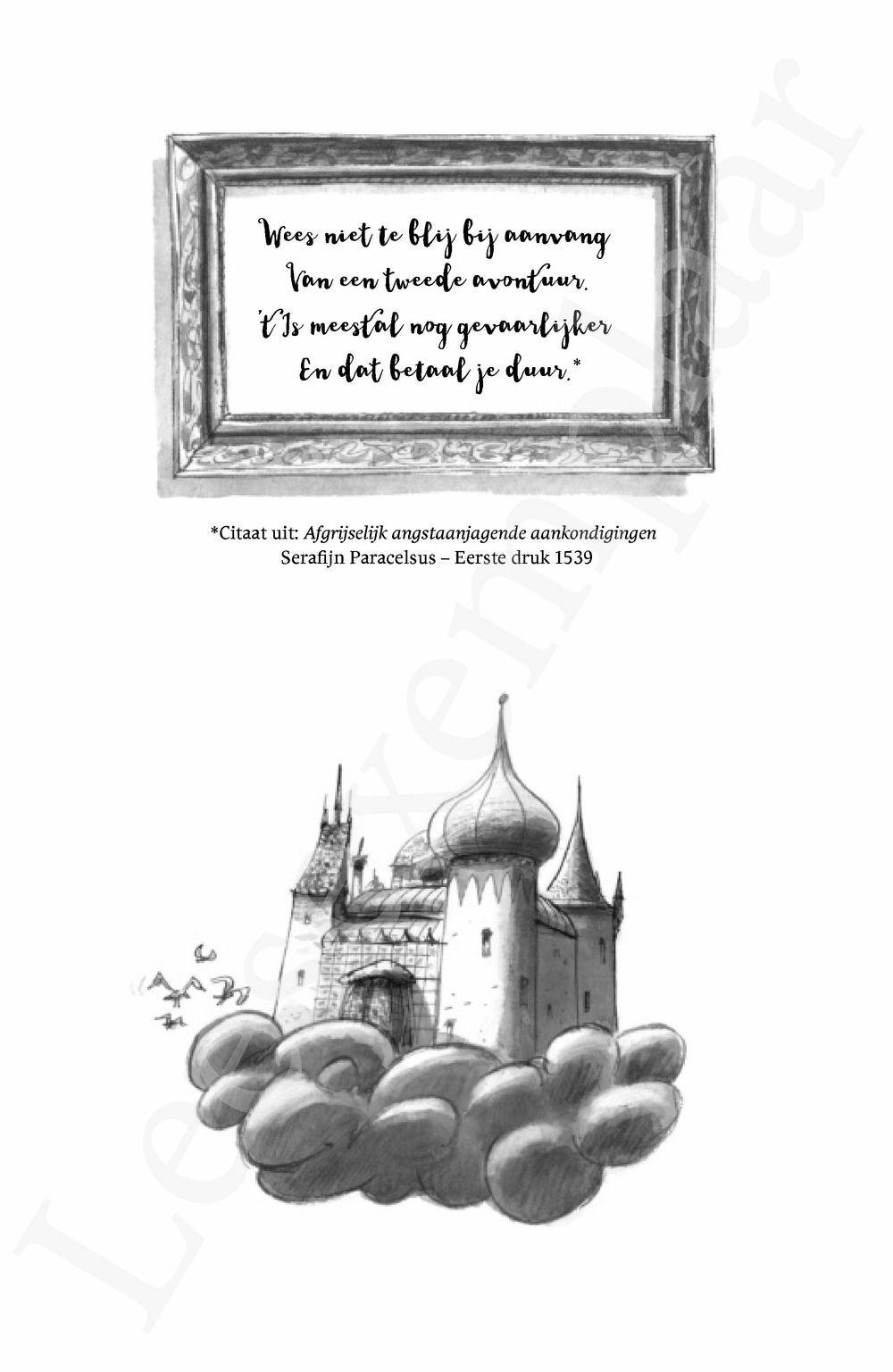 Preview: Tante Geola: Het zwaard van grootoom Serafijn