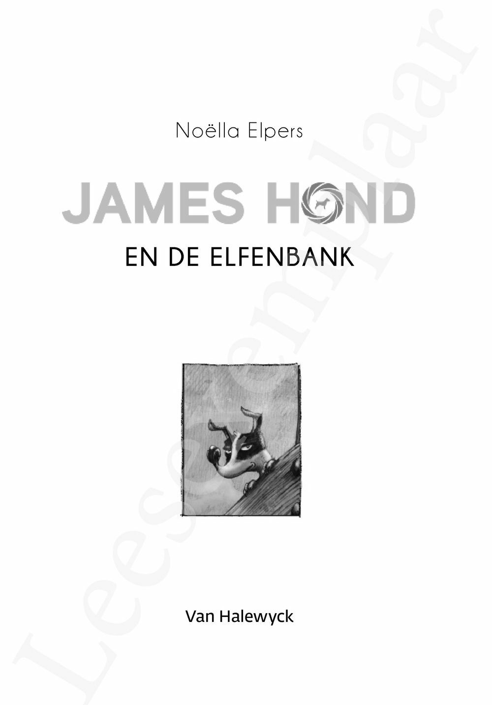 Preview: James Hond en de Elfenbank