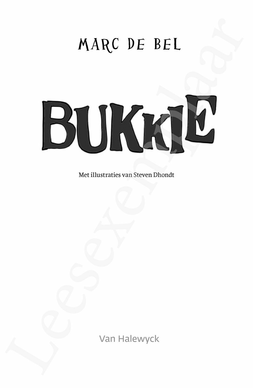 Preview: Bukkie