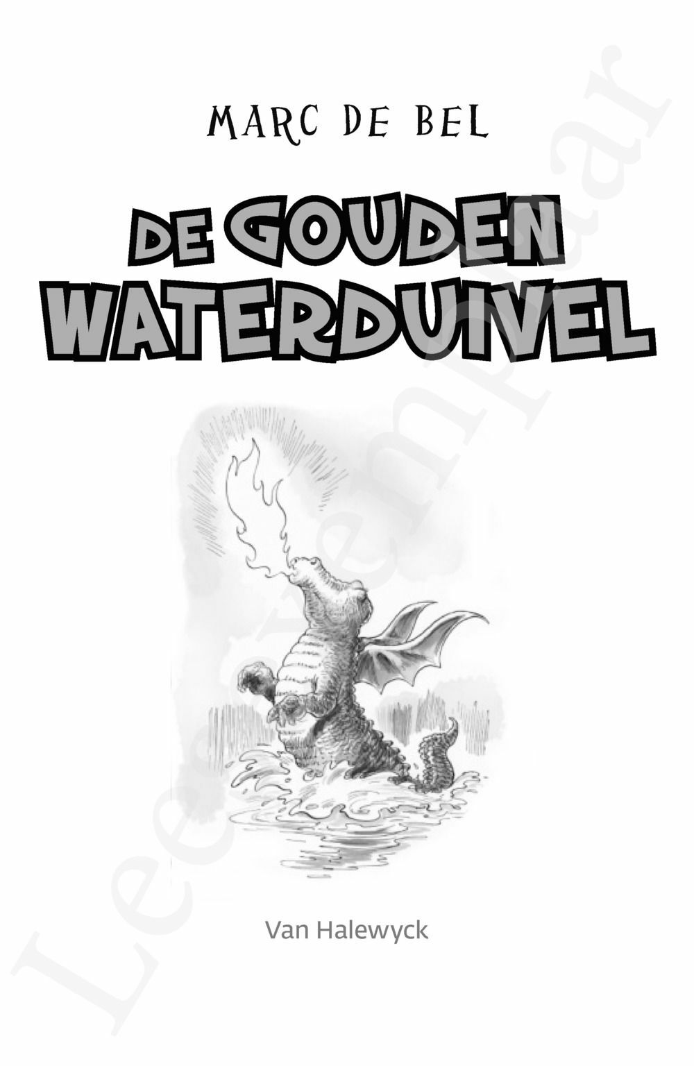 Preview: De gouden waterduivel