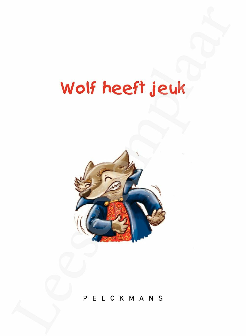 Preview: Wolf heeft jeuk