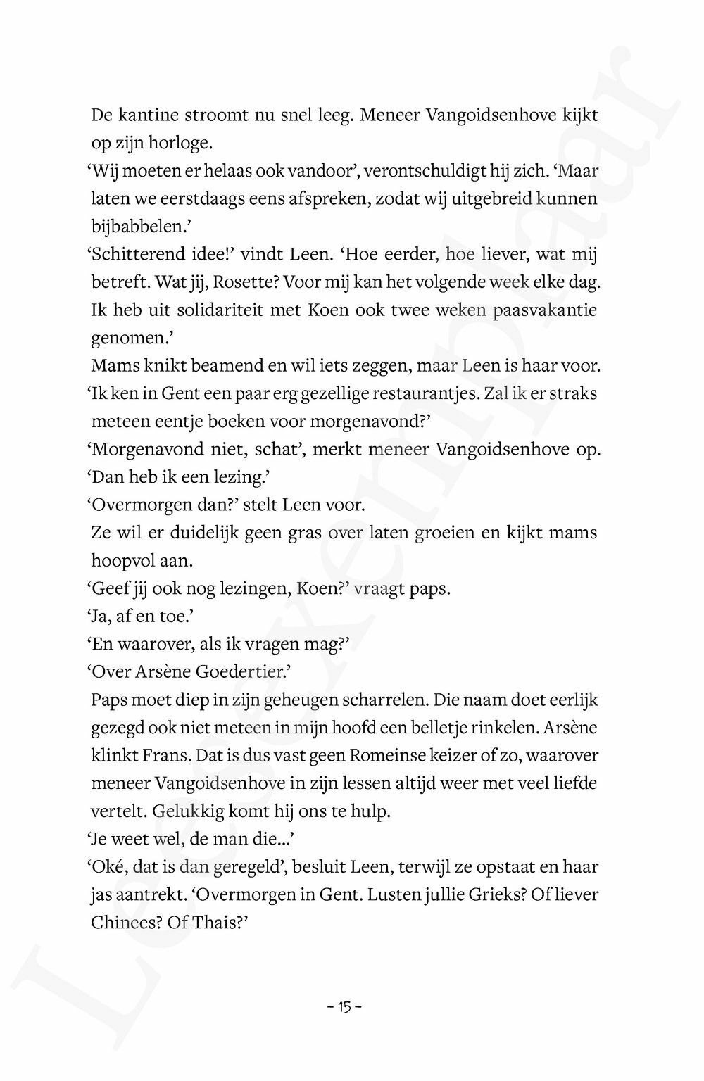 Preview: De veertiende brief