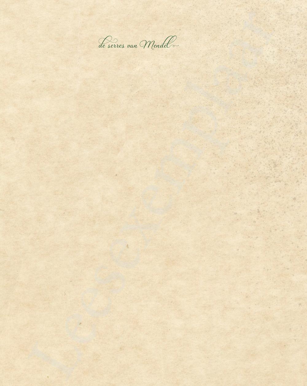 Preview: De serres van Mendel