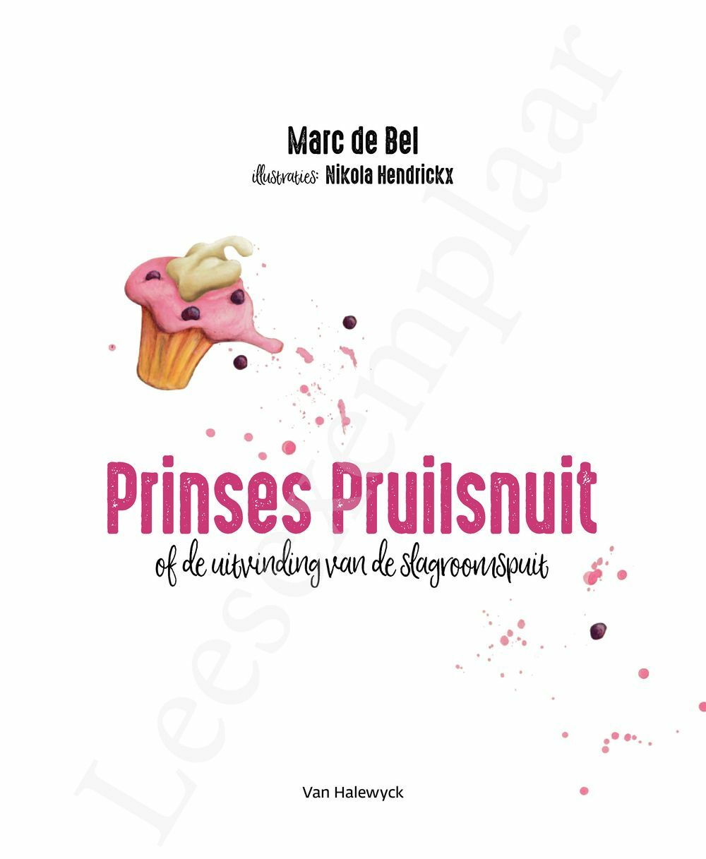 Preview: Prinses Pruilsnuit (of de uitvinding van de slagroomspuit)