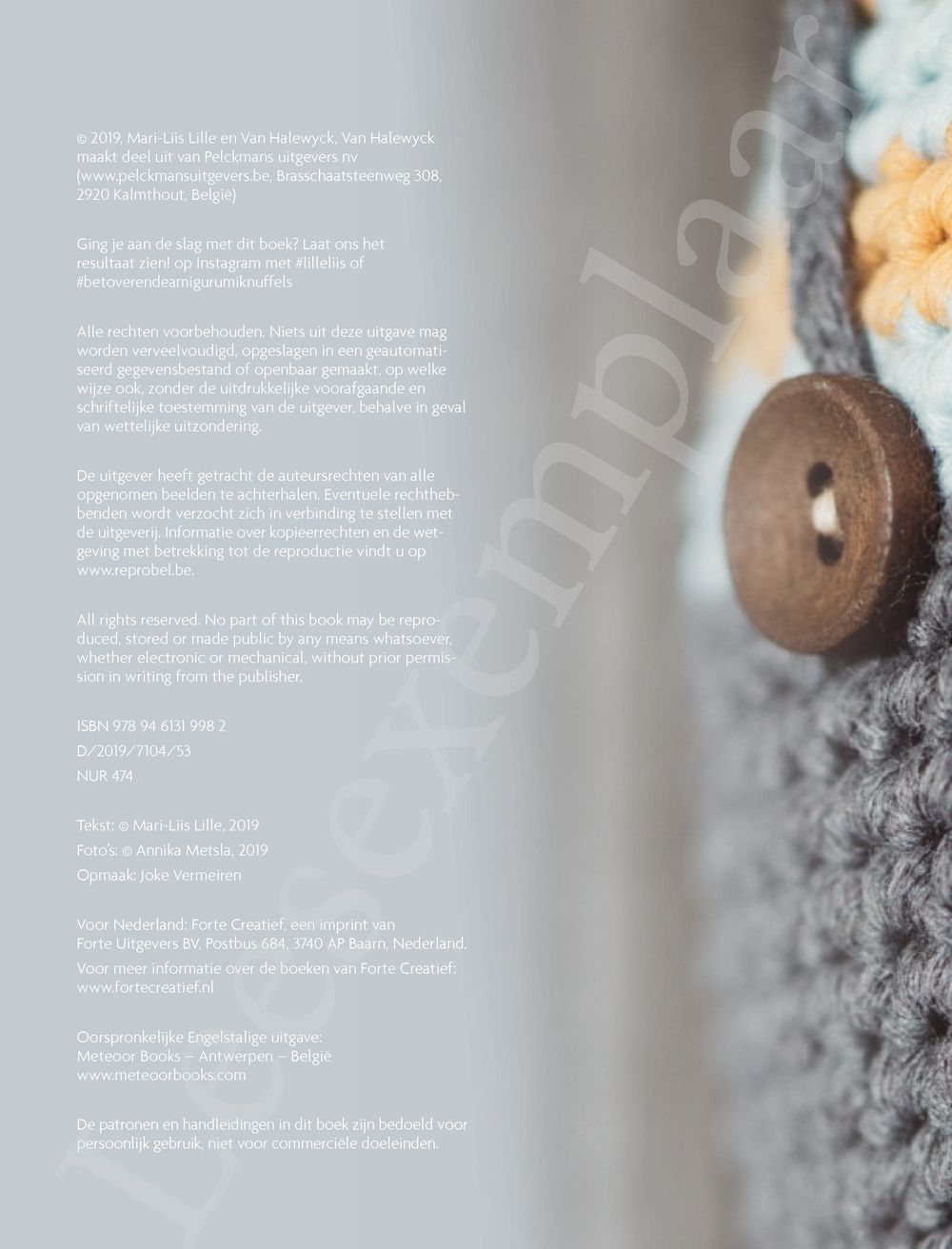 Preview: Betoverende amigurumiknuffels 3