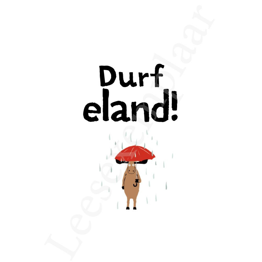 Preview: In het wilde woud: Durf Eland