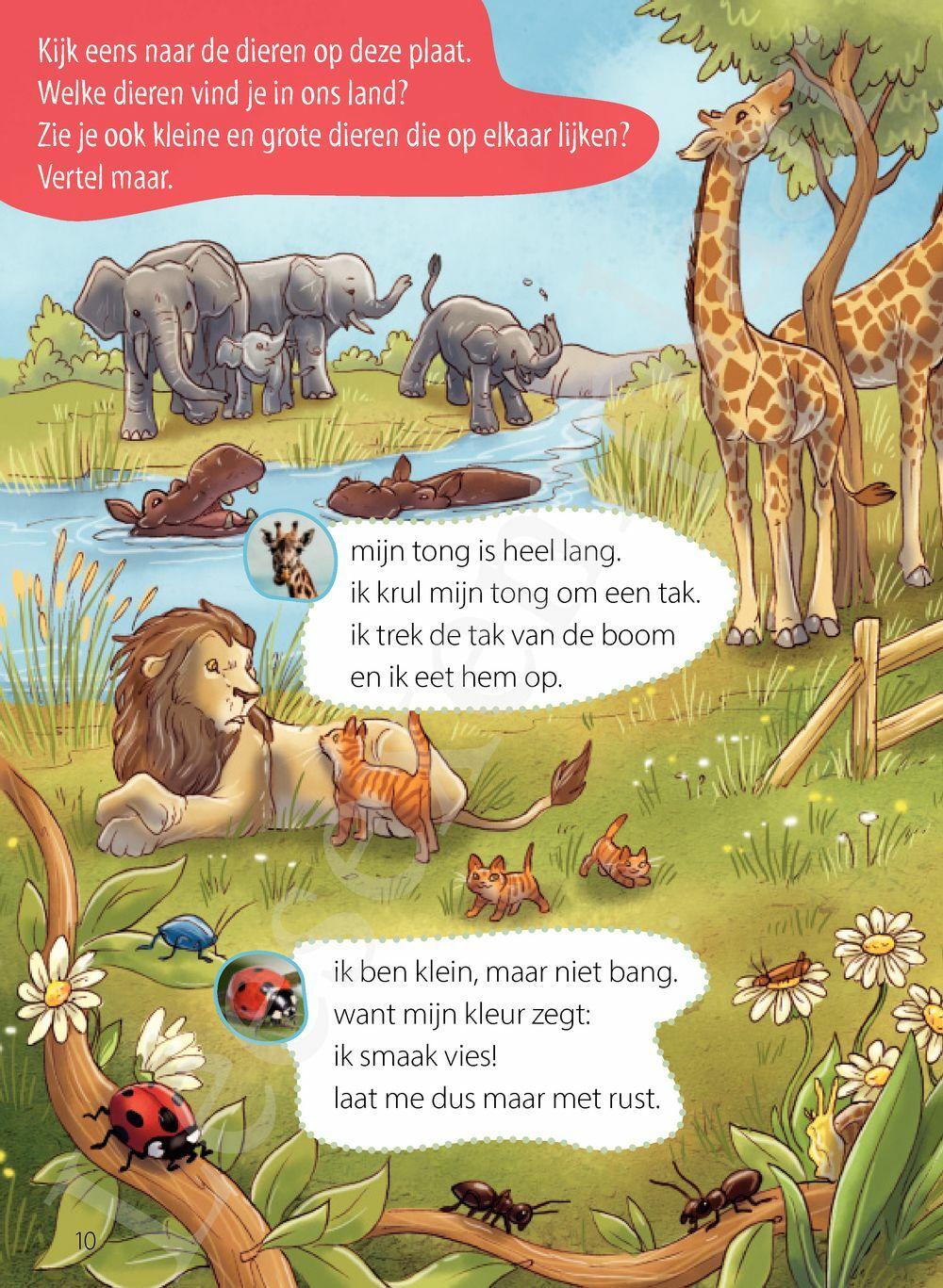 Preview: Groot of klein? Ik lees slim - weetjes over dieren