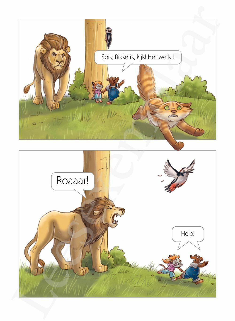 Preview: Luid of stil? Ik lees slim - weetjes over dieren