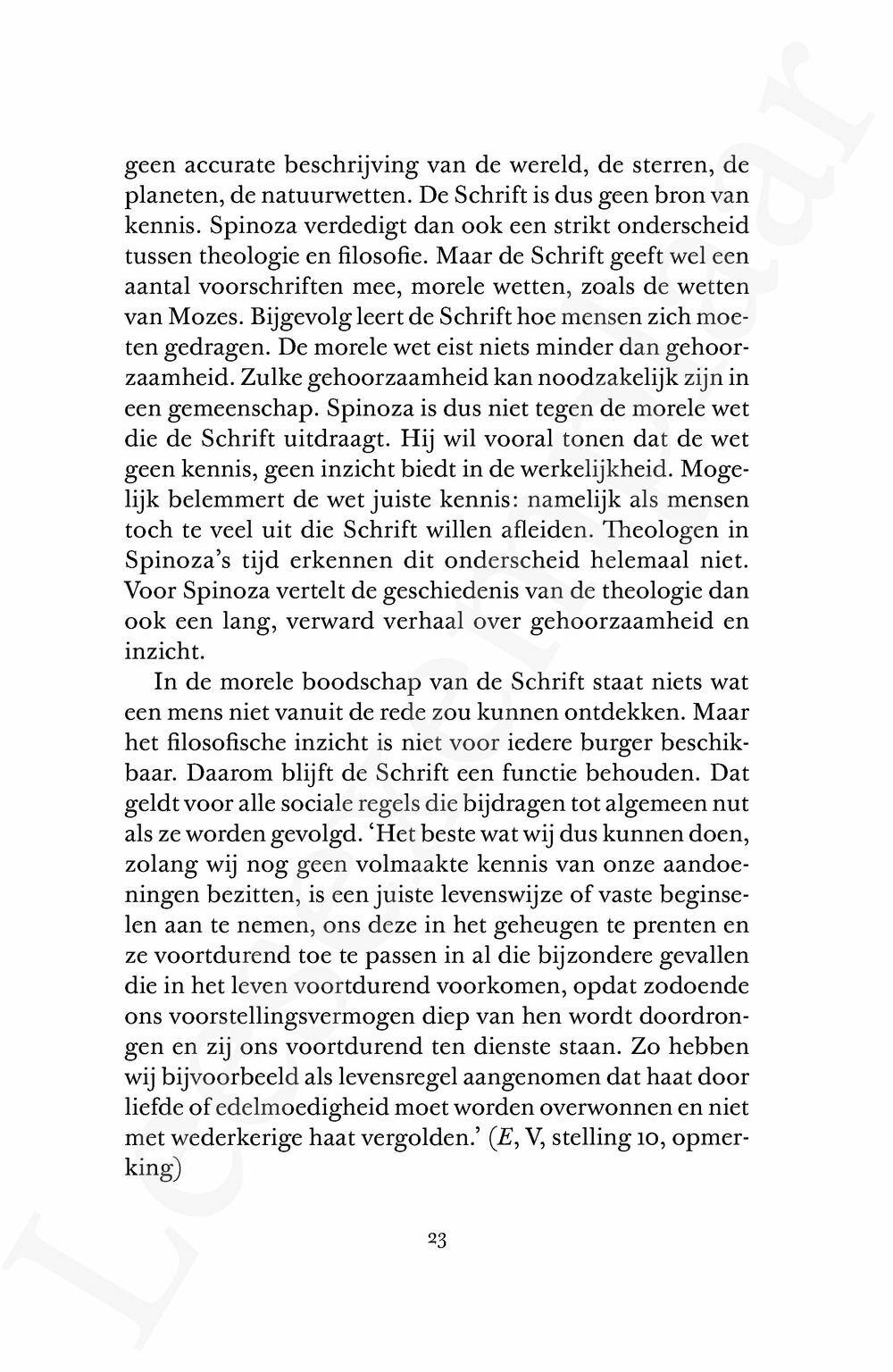 Preview: Door Spinoza's lens