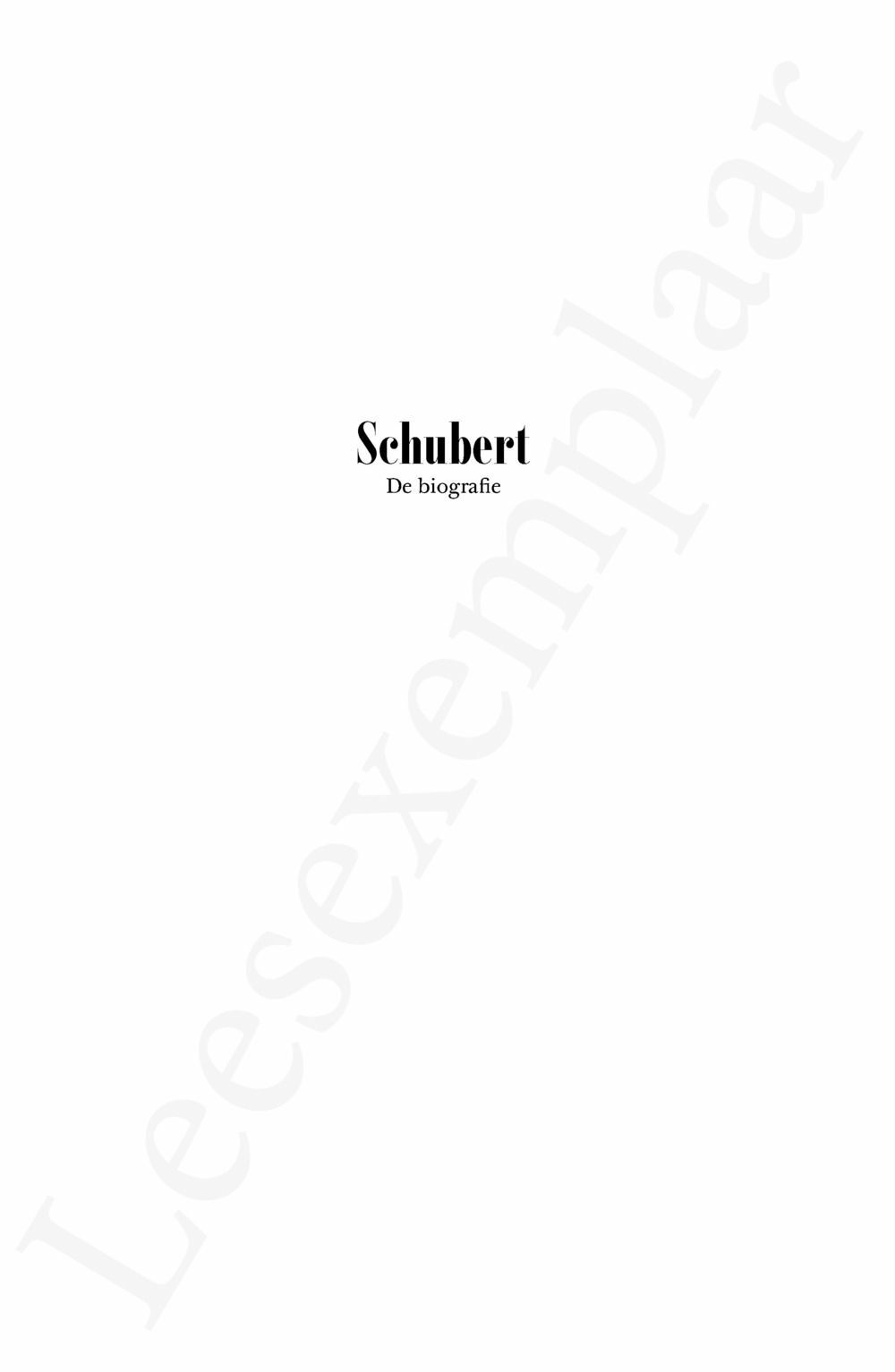 Preview: Schubert