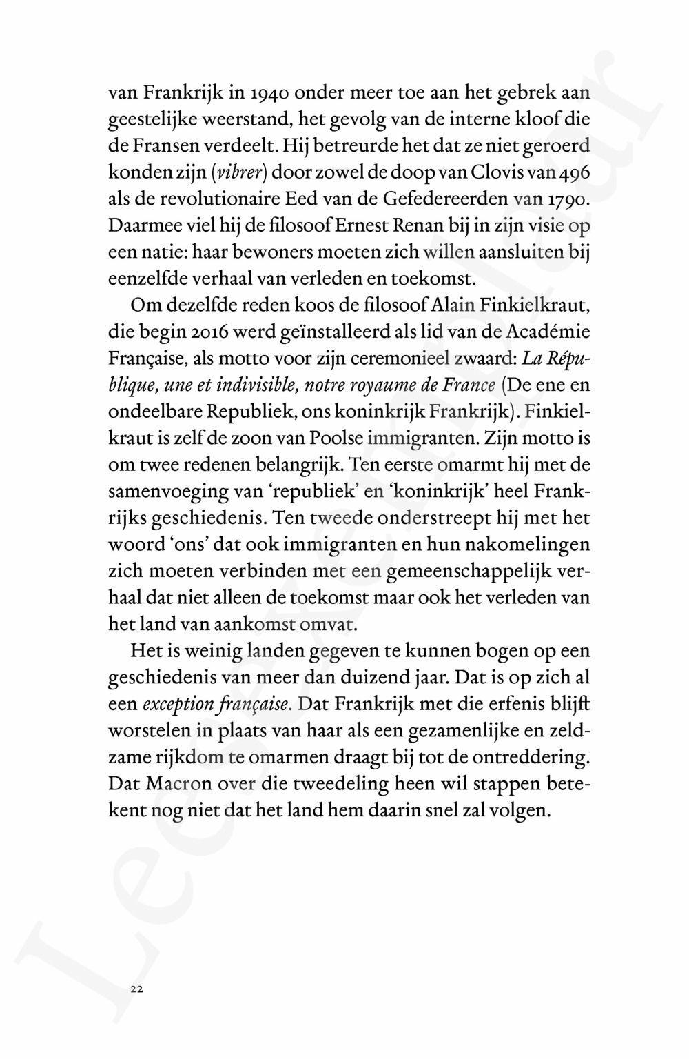Preview: Ontredderde republiek (update - nieuwe editie tot en met Macron)