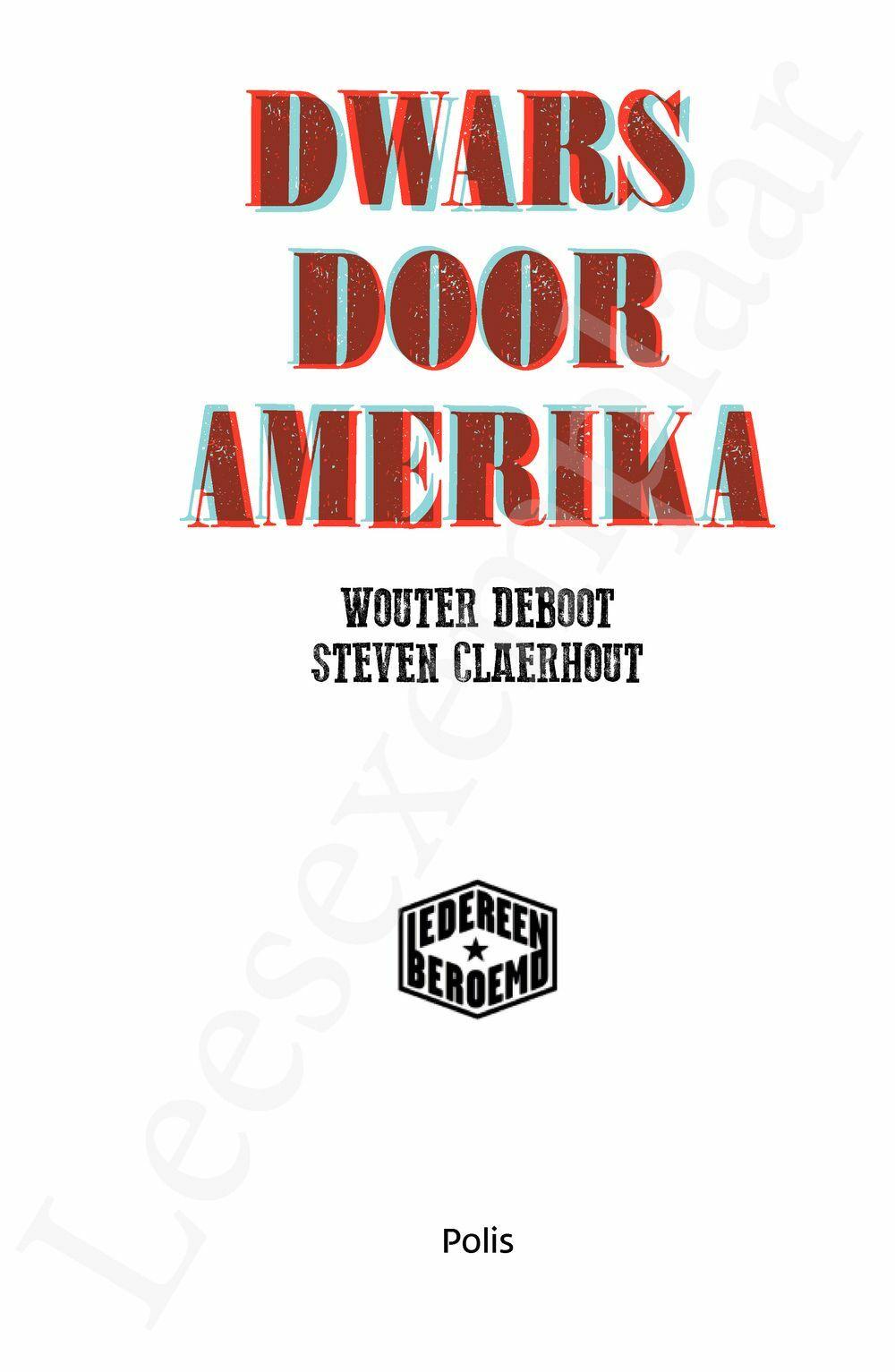Preview: Dwars door Amerika