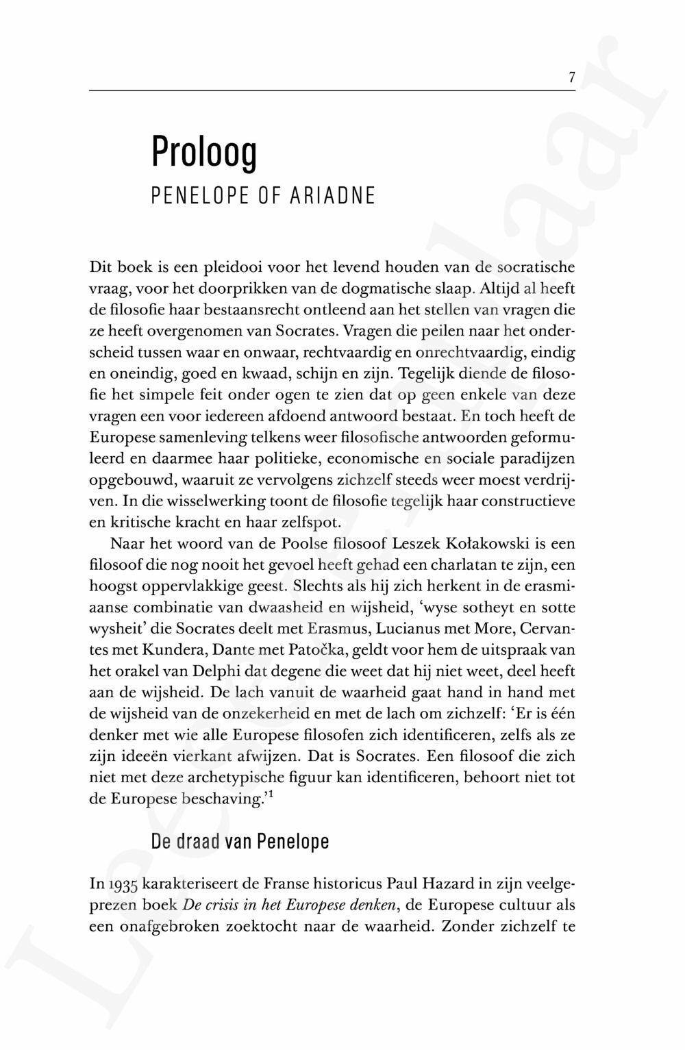 Preview: De draad van Penelope (herdruk)
