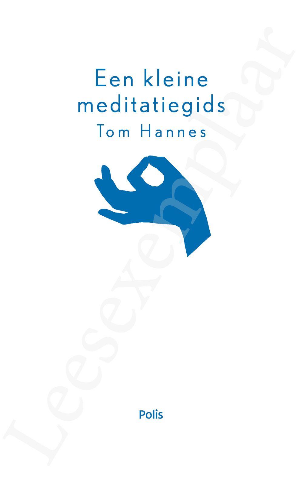 Preview: Een kleine meditatiegids