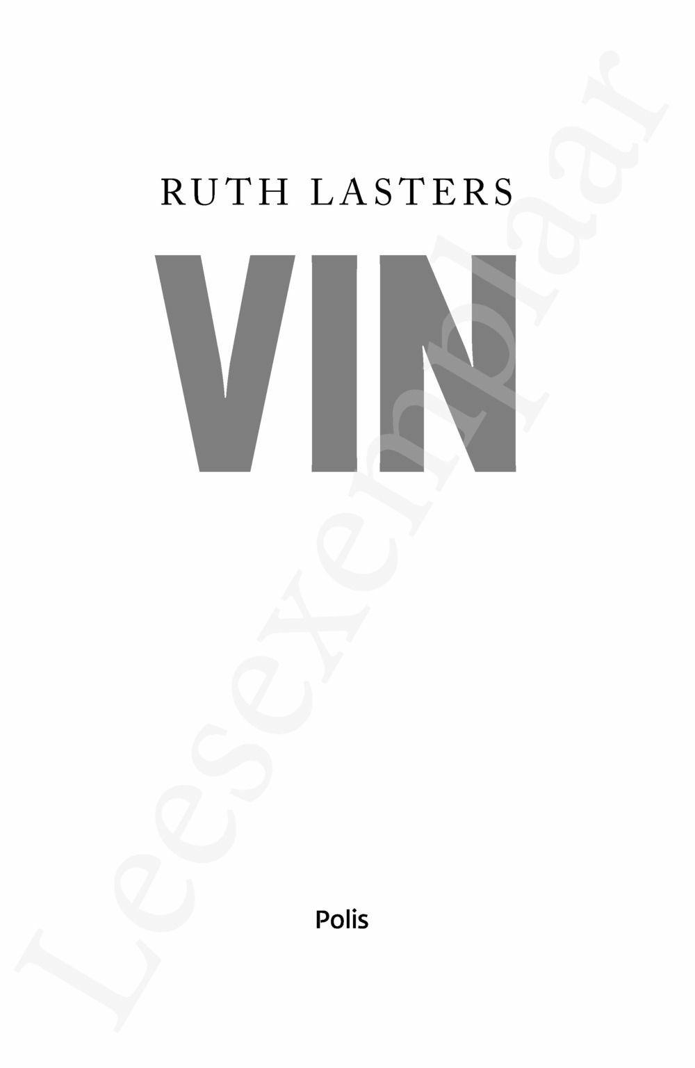 Preview: Vin