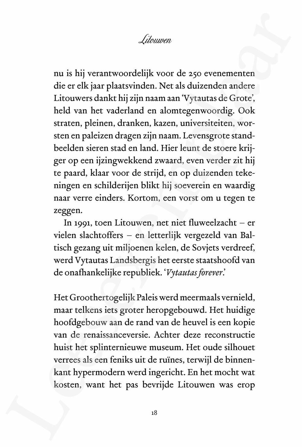 Preview: Litouwen