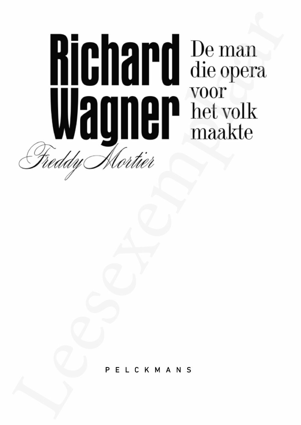 Preview: Richard Wagner