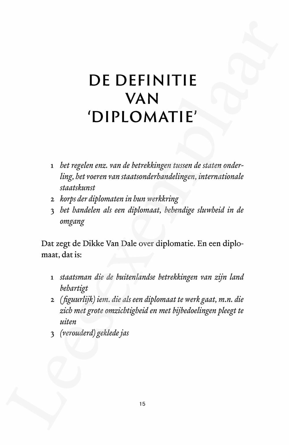 Preview: Corps diplomatique