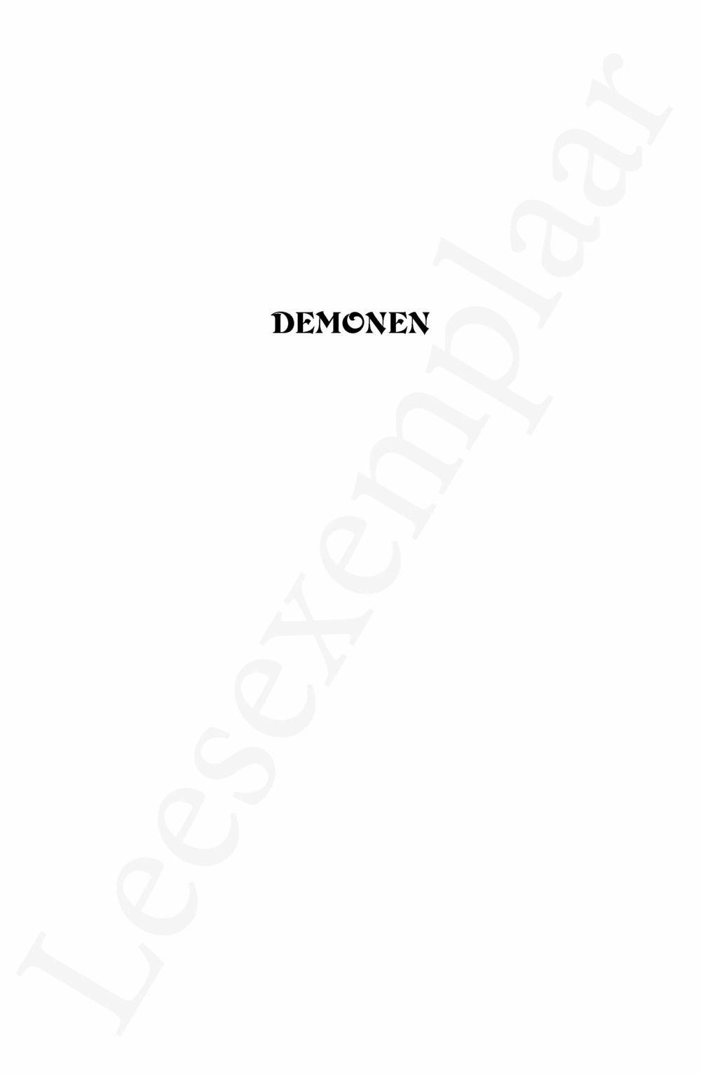 Preview: Demonen