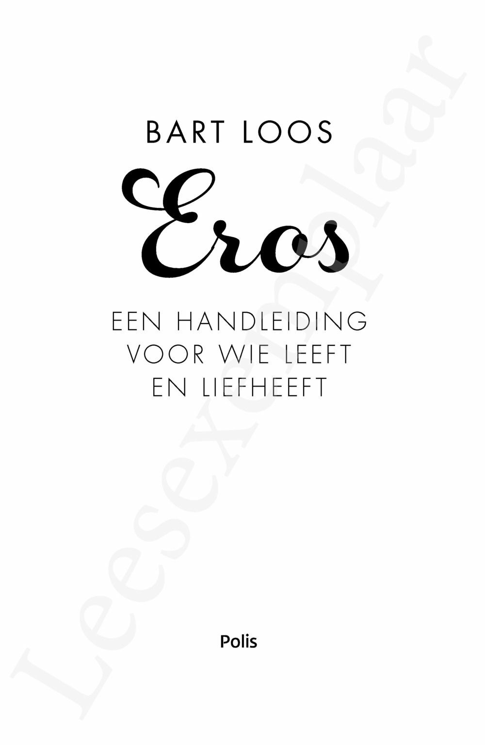 Preview: Eros