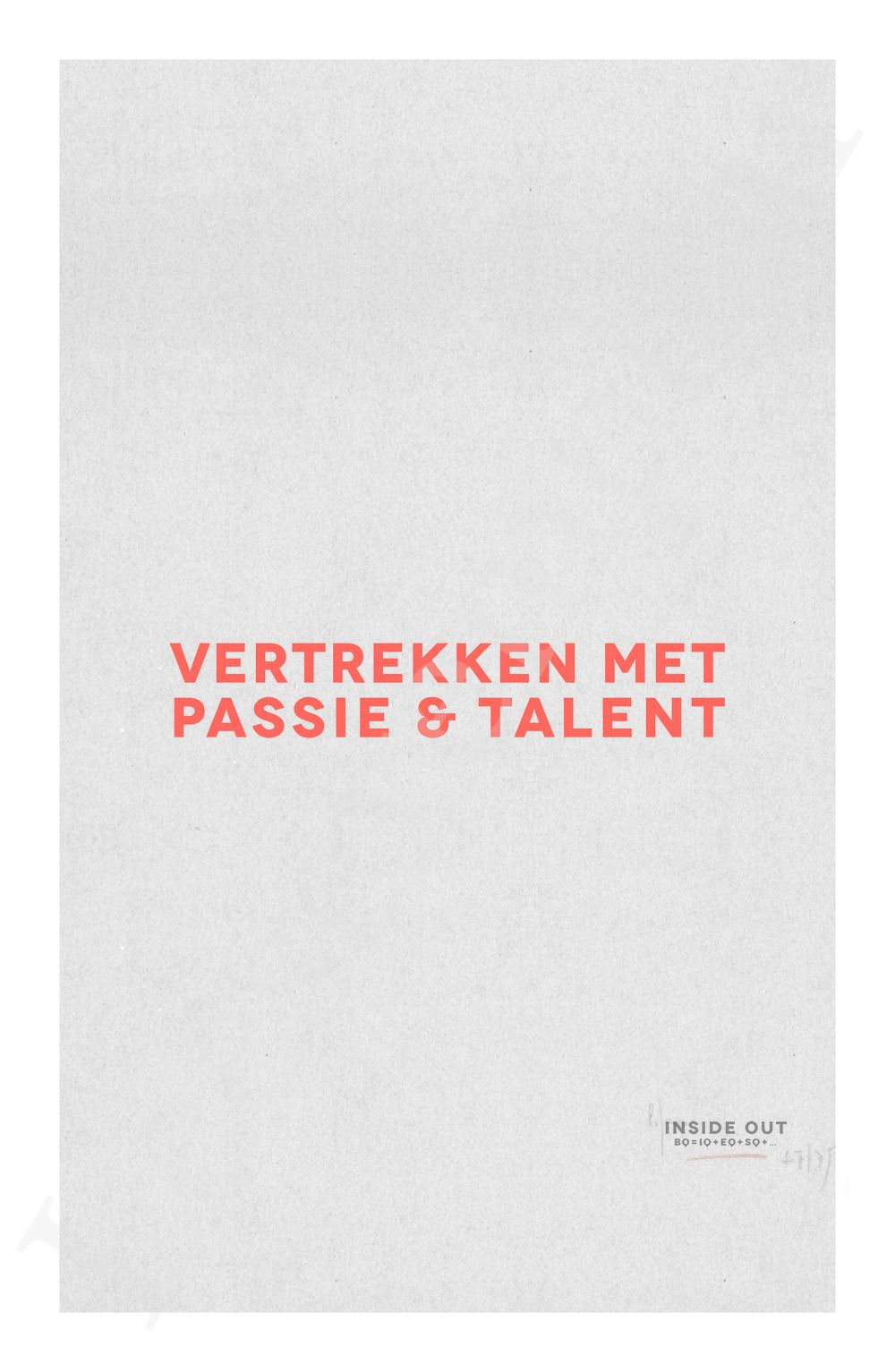 Preview: Vertrekken met passie en talent