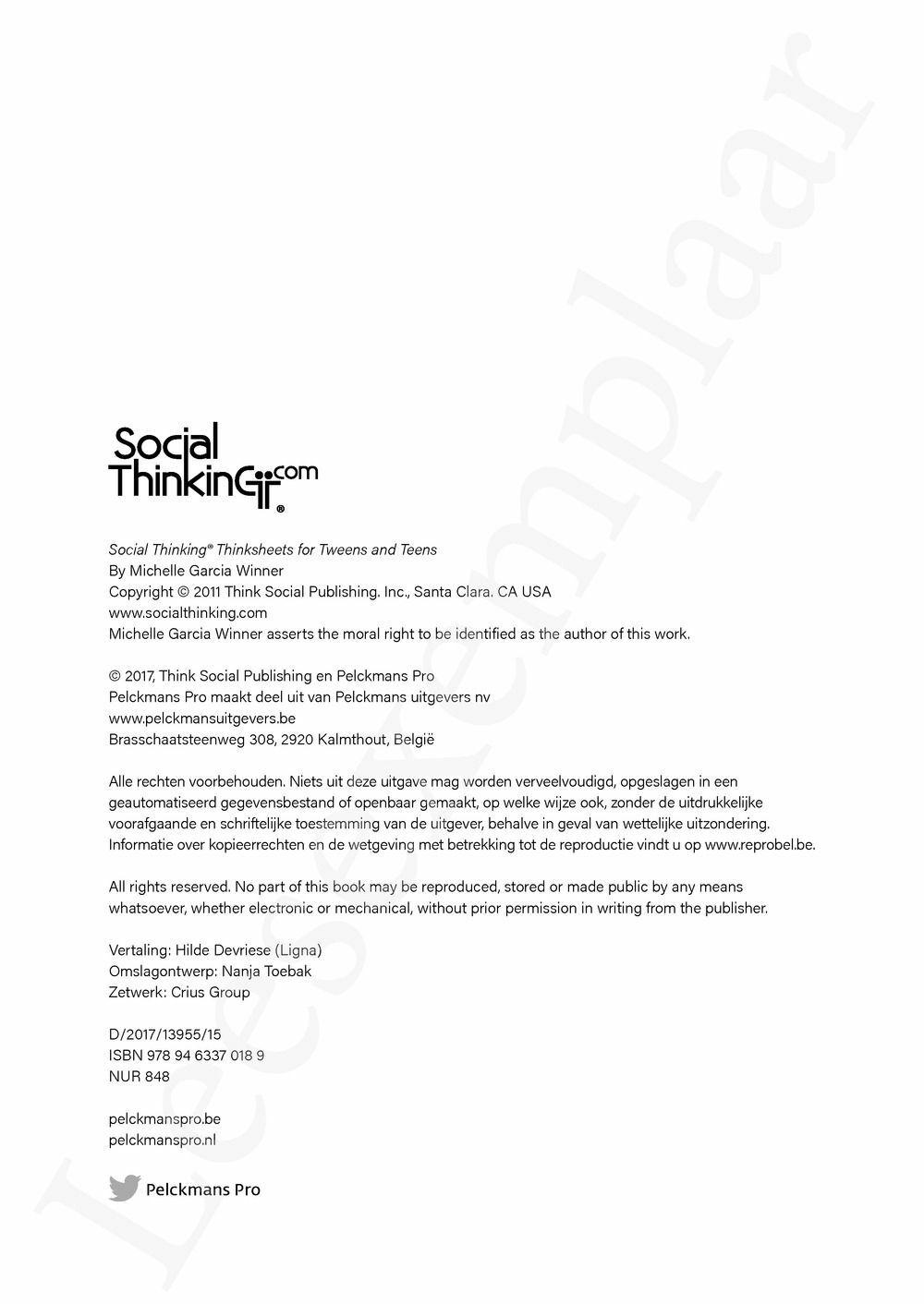 Preview: Sociaal denken